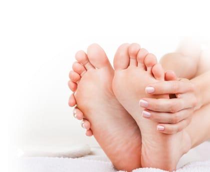 Péče o nohy - hýčkejte své nohy